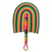 Bolga hand held fan...made in Ghana from straw, £25 at Lola & Mawu