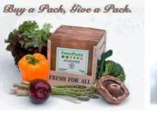 Fresh Paper by US's Fenugreen keeps fruit and veg fresher for longer in the fridge