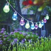 Solar festoons for the garden - pretty and fun