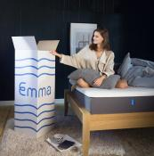mattress in a box - Emma is made in the UK and should last for 15 years