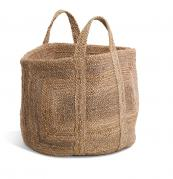 Braided hemp storage basket at Nkuku, £69.95, nkuku.com