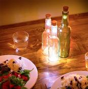 Rechargeable LED corks turn empty wine bottles into lamps, £9.99 at Red5.co.uk