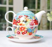 Tea for one - Collier Campbell design makes this teapot and cup a delight, £24.95, colliercampbell.com