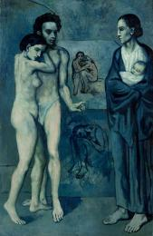 La Vie, 1903, oil on canvas, Cleveland Museum of Art, OH, USA