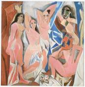 Les Demoiselles d'Avignon, 1907, oil on canvas
