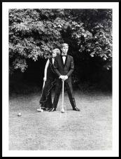 Croquet anyone? late 60s editorial shot for Menswear Magazine, shot at Glyndebourne using Hassleblad 21/4 sq HP3 camera