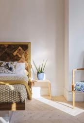 Bedrooms have wooden floors