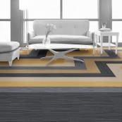 Flooring giant Interface offers carpet tiles made from yarn from discarded fishing nets. The range is called Net Effects