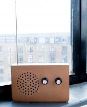 Cardboard Radio MP3 Speaker by Suck UK, £25. Perfect for days in the park