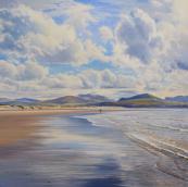 Duncan Palmar, Reflections on Traeth Llanddwyn, Anglesey