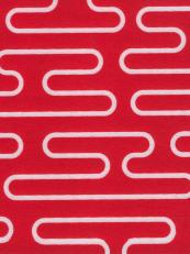 Ripple design in red and white for EchoPanel