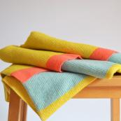 Erraid wool wrap by Flora Collingwood Norris, £137. Handmade at Kew