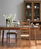Ercol's stained oak extendable Arbor table, L150-200cm, D90xH76cms, from £1495 www.ercol.com