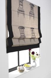 Roman blind Chair fabric from Jab Anstoez' Chivasso Whispers linen range, £82.50 per m
