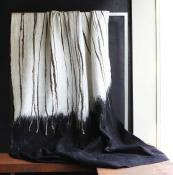 Hand-embroidered felted wool and silk throw by Claudy Jongstra, £2,900, www.willer.co.uk