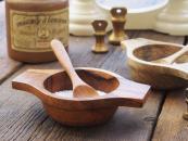 FSC-certified mango wood salt bowl, £15, from www.pastelland.co.uk
