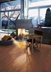 Kahrs' FSC & Fairtrade cert Rauli Roble Roja flooring. Woods from South America. www.kahrs.co.uk