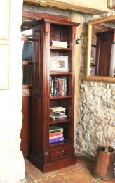 La Roque bookcase, FSC cert plantation grown mahogany www.furniture-house.co.uk