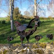 Hen & Chicks by Helen Denerley, Moncrieff Bray dealer