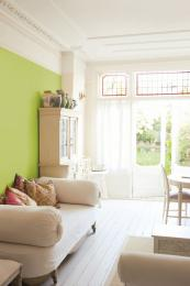 Cornwall-basedNature Paint is non toxic and free of VOCs. It's sold in powder form to reduce COs emissions associated with transport