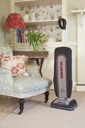 Oreck's capacious upright cleaner again drawers 350 watts