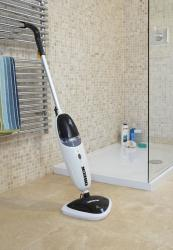 Oreck 33 Steam-Glide mop, £94.99. Comes with reuseable microfibre pads