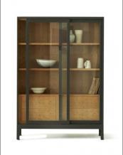 Joyce Cabinet in cherry and oak by Pinch Design