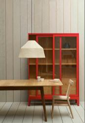 Joyce Cabinet in red by Pinch Design. www.pinchdesign.com