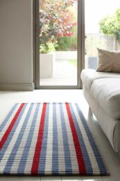 Roger Oates' Upcycled Rugs are made from scraps of wool that not so long ago would have been skip-bound, from £175, www.rogeroates.com