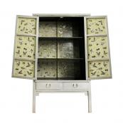 Silver cabinet from Shimu is made from reclaimed elm, £1,855. www.shimu.co.uk
