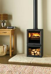 Stovax Midline, use in smoke control areas, 4.9kw, £1,295. www.stovax.com