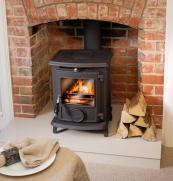 Little Wenlock stove from Aga, around £550, 79.4% efficiency, www.agaliving.com