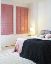 Solid poplar wood blackout shutter from Shutterly Fabulous, from £290m2