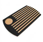 Grooved Eco breadboard is made from recycled paper. Available in the UK at £34.95 from www.ashortwalk.com