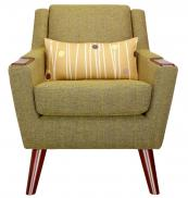 The Fifty Five armchair in marl green from G-Plan Vintage at John Lewis, www.johnlewis.com