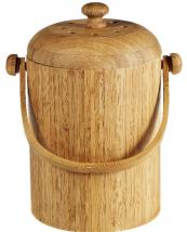 Bamboo pail with removable inner lining, £31.60 at The Container Store
