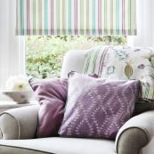 Stripes are great for Roman blinds