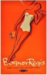 A British Railways 1950s' poster promoting the delights of Bognor Regis, £575, 101x63cm