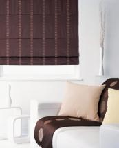 Roman blinds for bedrooms should have blackout lining to ensure you're not woken with the sun