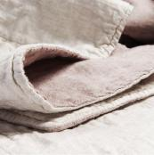 Quilt from Dutch brand By Molle, made in colours customers choose from linen, organic cotton and bamboo. £191