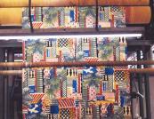 1983, Cote D'Azur .. a hugely popular design.. Susan Collier's love of Matisse shines through
