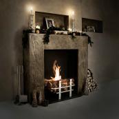 Cotswold Basket bio ethanol fire, 3kW, £1,950, www.biofires.com