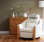 Ravenna recliner in white by Ercol, from £1,700. www.ercol.com