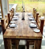 Eat Sleep Live uses reclaimed timber sourced in Britain. www.eatsleeplive.co.uk