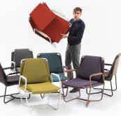 Casta chair by JM Ferrero for Spanish brand Sancal are made using minimal and recyclable materials. £665. www.nest.co.uk