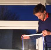 Ecoease secondary glazing panels are just 3mm thick and held in place by magnetic strips. From £110m2. www.ecoease.co.uk