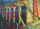 Hampstead Heath Viaduct by Chrisopher Keavys, 16x24cms, £850