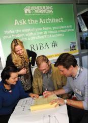 Architects will be on hand to discuss your project with you