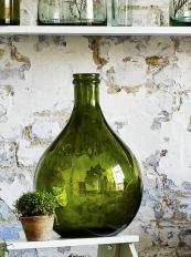 Douglas moss green recycled glass bottle, £45 from John Lewis. www.johnlewis.com