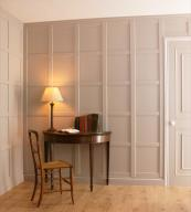 UK made easy-fix very low formaldehyde MDF wall panels, around £40m2, from Kent based Fine Panel. www.finepanel.co.uk